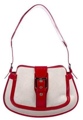 Tod's Leather-Trimmed Shoulder Bag