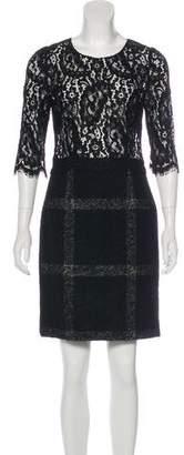 Dolce & Gabbana Long Sleeve Mini Dress