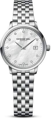 Raymond Weil Toccata Stainless Steel Watch with Diamonds, 29mm