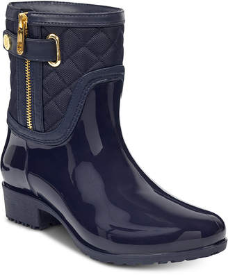 Tommy Hilfiger Women's Francie Rain Boots, Created for Macy's Women's Shoes
