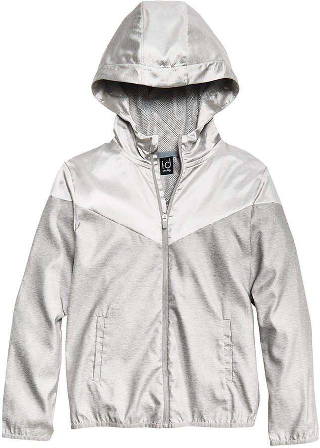 Ideology Metallic Hooded Jacket, Big Boys, Created for Macy's