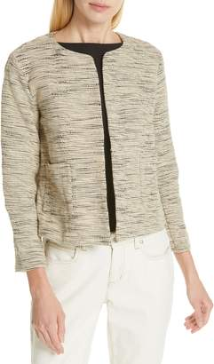 Eileen Fisher Woven Cotton Jacket