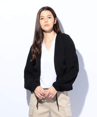 Calvin Klein (カルバン クライン) - CK CALVIN KLEIN WOMEN 【夏のおすすめアウター】シアーコットン カーディガン(C)FDB