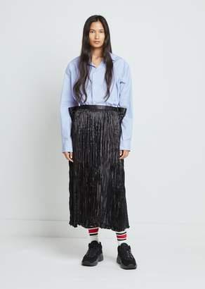 Junya Watanabe Polyester Satin Skirt