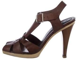 4150d771e5cf Marni Leather Straps Women s Sandals - ShopStyle