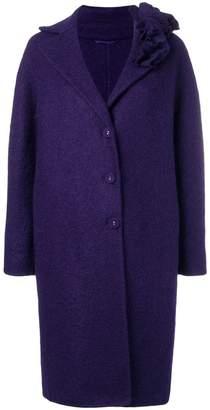 Ermanno Scervino buttoned single-breasted coat