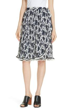Tory Burch Quincy Wrap Skirt