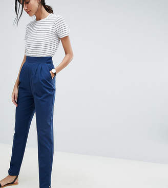Asos Tall DESIGN Tall high waist tapered pants