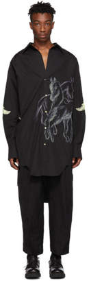 BED J.W. FORD Black Long Shirt