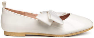 H&M Ballet Flats - White