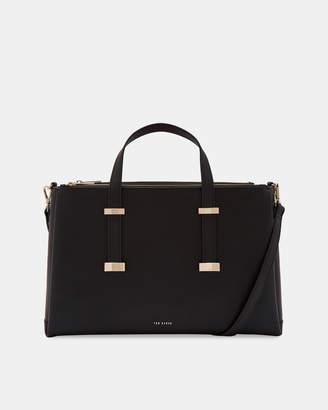 Ted Baker JULIEA Adjustable handle leather laptop bag