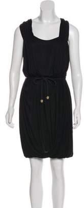 Stella McCartney Sleeveless Midi Dress Black Sleeveless Midi Dress