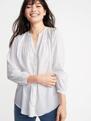 Old Navy Relaxed Shirred Tunic for Women