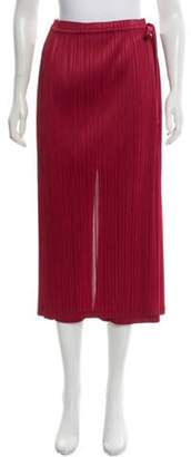 Pleats Please Issey Miyake Pleated High-Rise Pants Pleated High-Rise Pants