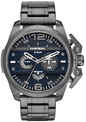 Diesel Men's Ironside Bracelet Watch $300 thestylecure.com