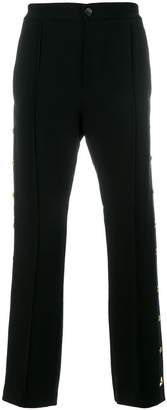 Class Roberto Cavalli star studded tailored trousers