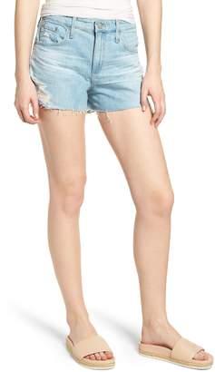 AG Jeans Bryn High Waist Cutoff Denim Shorts