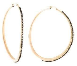 Armenta Diamond Large Hoop Earrings