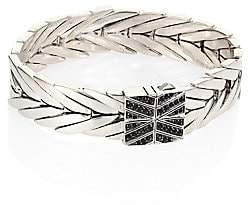 John Hardy Women's Modern Chain Black Sapphire, Black Spinel & Sterling Silver Medium Bracelet