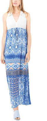 Hale Bob V Neck Maxi Dress