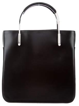 Lancel Leather Handle Bag
