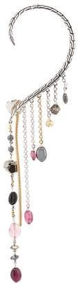 John Hardy Adwoa Aboah classic chain single drop earring cuff