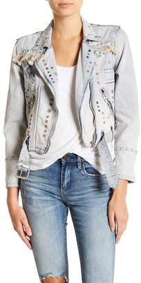 Blank NYC BLANKNYC Denim Embellished Denim Jacket