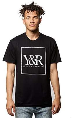Young & Reckless Young and Reckless - Core Box Logo Tee- Graphic Tee
