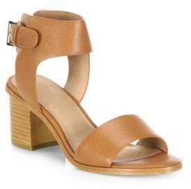 Joie Bea Leather Mid-Heel Sandals