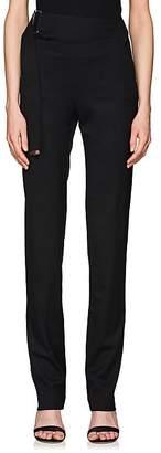 Helmut Lang Women's Elastic-Strap Wool Trousers