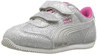 Puma unisex-baby Whirlwind Glitz Velcro Sneaker