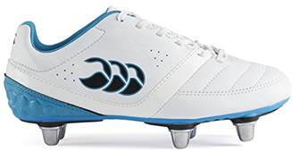 Canterbury of New Zealand Unisex Kids Phoenix Club 6 Stud Rugby Boots,38 1/2 EU