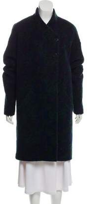 Band Of Outsiders Wool Knee-Length Coat