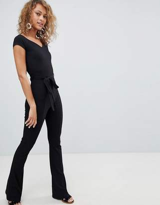 Miss Selfridge Skinny Rib Jumpsuit