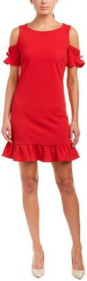 Betsey Johnson Cold-Shoulder Shift Dress