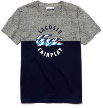 Boy's Jersey Crocodile Print Crew Neck T-Shirt $40 thestylecure.com