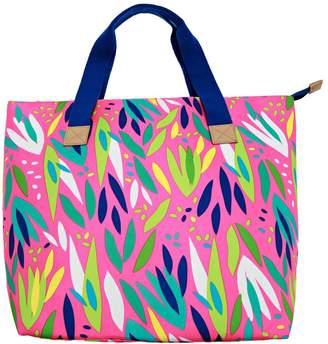 Ion Aloha Pink Leafy Tote