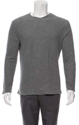 Alexander Wang Distressed Crew Neck Sweater