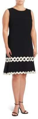 Julia Jordan Sleeveless Ruffle Dress