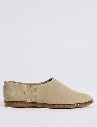 Marks and Spencer Suede Low Cut Loafers