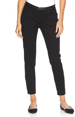 Women's Apt. 9® Curvy Fit Sateen Skinny Pants $44 thestylecure.com