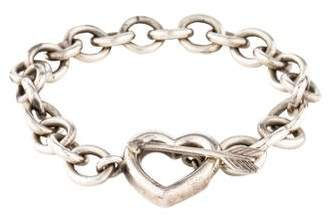 Tiffany & Co. Heart & Arrow Toggle Bracelet
