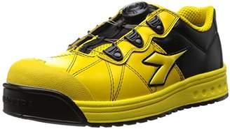 Diadora (ディアドラ) - [ディアドラユーティリティ] DIADORA UTILITY 作業靴 スニーカー フィンチ FC552 イエロー&イエロー&ブラック/24.5
