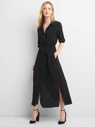 Gap Maxi tie-belt shirtdress