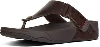 FitFlop Trakk Ii Men's Leather Toe-Thongs