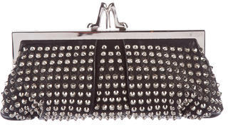 Christian Louboutin  Christian Louboutin Studded Leather Shoulder Bag
