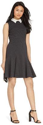 Ralph Lauren Jacquard Collared Dress $159 thestylecure.com