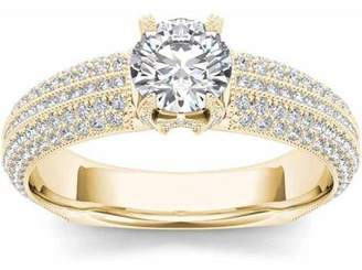 Imperial Diamond Imperial 1-1/2 Carat T.W. Diamond Classic 14kt Yellow Gold Engagement Ring