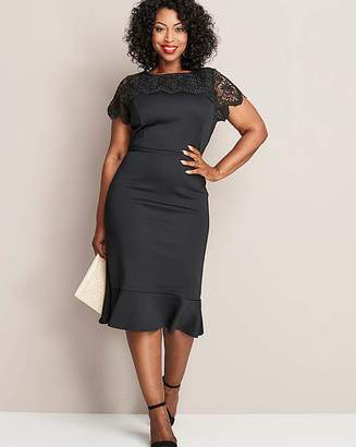 Peplum Dresses With Sleeves Plus Size Shopstyle Uk