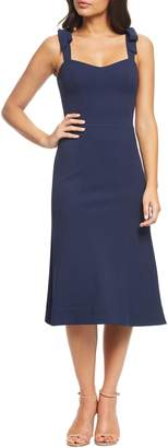 Dress the Population Hana Tie Shoulder Cocktail Dress